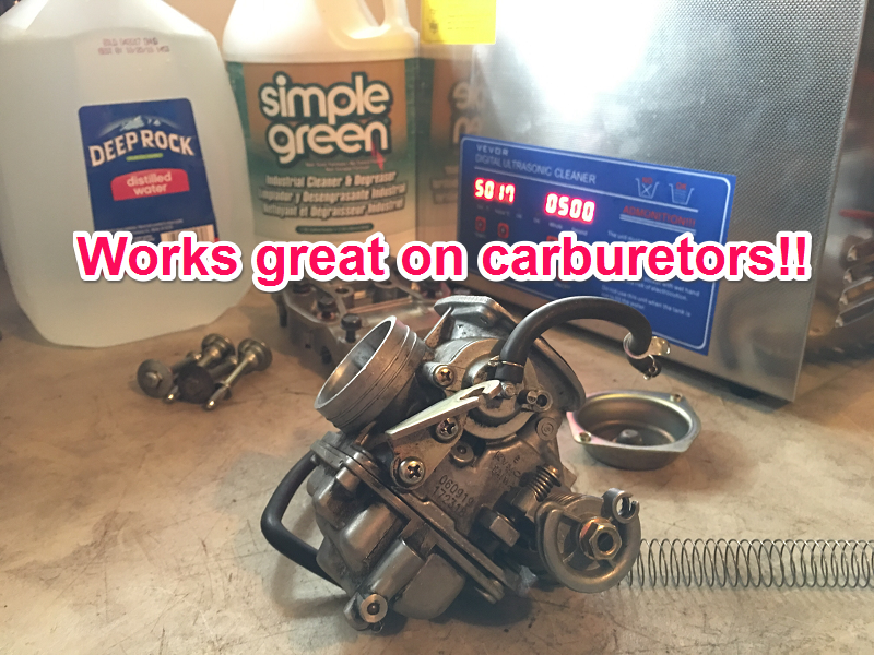 Carburetor Cleaner Ultrasonic